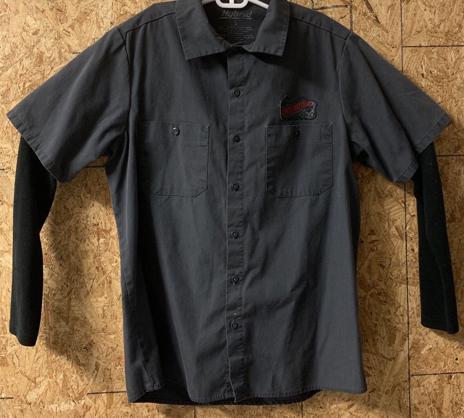 Chevrolet Hybrid Button Up Shirt Size S