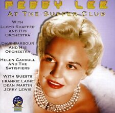 Peggy Lee - At the Supper Club [New CD]