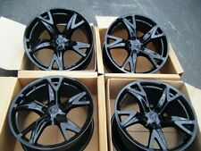 "19"" Nissan 370z 370 z RAYS ENGINEERING  FORGED  Factory OEM  Wheels Rims Black"