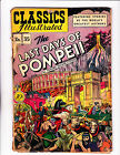 Classic Illustrated No.35 (HRN 35) :1947: : 1st Edition! : : Pompeii :