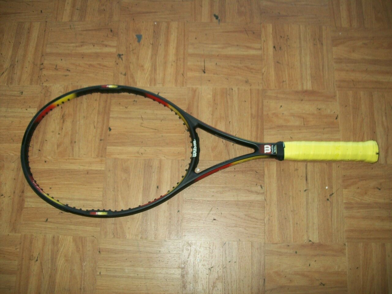 Wilson Pro Staff Clásico si 6.1 95 cabeza 4 1 2 Grip Tenis Raqueta