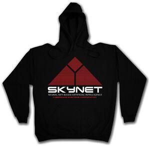 Systems Skynet Kapuzenpullover Logo Hoodie Terminator Cyberdine Hooded Sweat ggvxzY