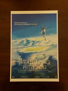 Movie Fan Preview Screening Anime Poster Weathering with you