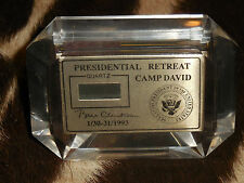 Extremely Rare Presidential gif for his first cabinet meeting at Camp David