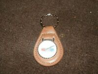 1960's Ford Falcon 1963 1964 1965 66 1967 68 1969 Leather Keychain Brown