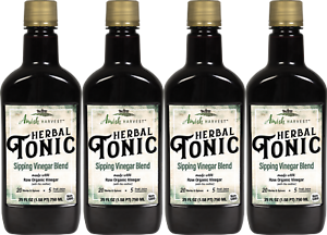 Herbal Tonic Amish Harvest Brand by Yoder Naturals 4 Bottle Deal