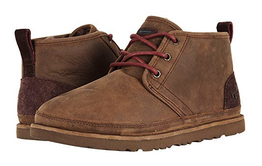 333b92a2a3f UGG Men's Neumel Waterproof Chukka Boot Leather in Grizzly Size US 8 UK 7