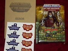 Eldor Masters of the Universe MOTU 2014 Classics Club Eternia Rare Figure !
