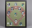 Baseball-Display-Board-Trading-Card-Sports-Field-Frame-22x28 thumbnail 1