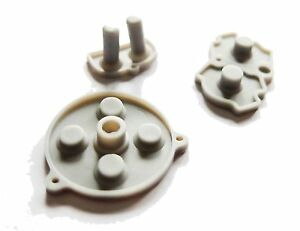 GameBoy-Game-Boy-Advance-GBA-replacement-Silicon-Silicone-Rubber-Dpad-buttons-UK