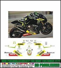 kit adesivi stickers compatibili r1 r6 moto gp tech 3 monster