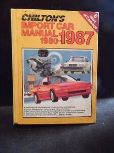 chilton auto manuals for sale