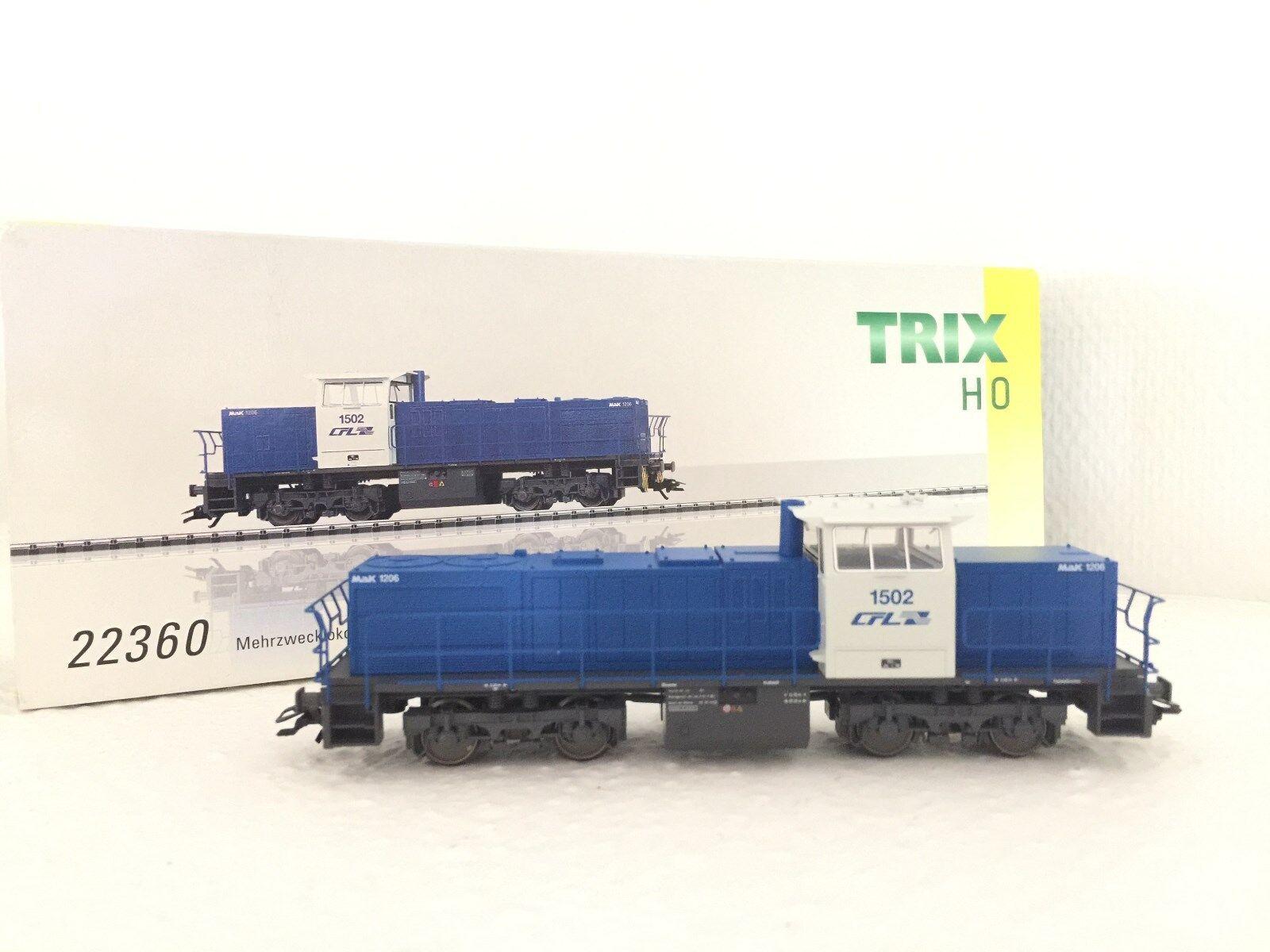 Trix H0 22360 serie locomotora diesel 1500 OVP nuevos CFL MaK para Roco