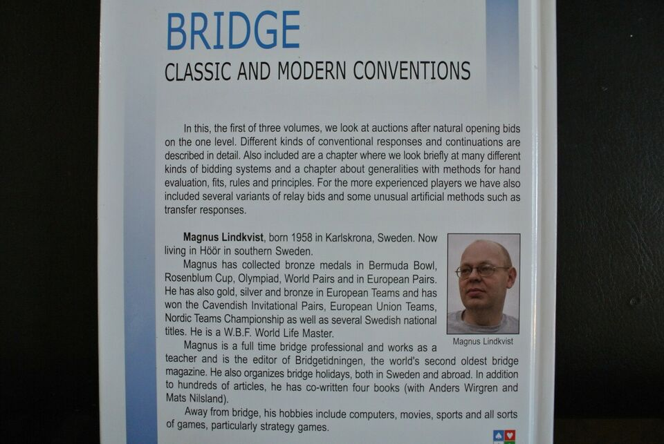 bridge - classic and modern conventions 1-4, edited by