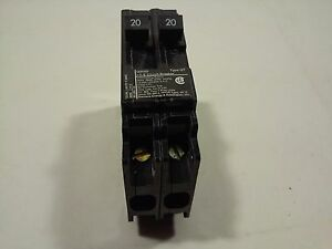Details about ITE/Siemens 20 Amp Twin Circuit Breaker Q2020 1 Pole - 2  Circuits