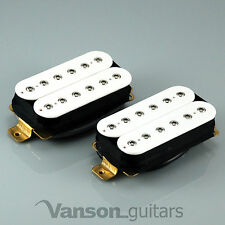 Nuevo Vanson Hot hex-pole Humbucker Pickup Set, De Ibanez, Epiphone etc. n&b Blanco