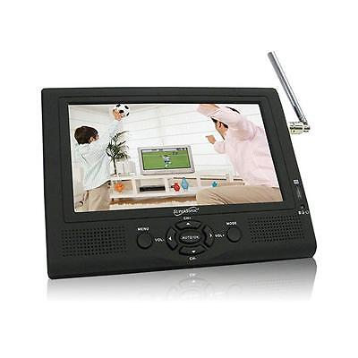 "Supersonic Portable SC195D 7/"" AC//DC LCD Built-in Battery TV"