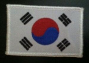 Korean Flag Patch