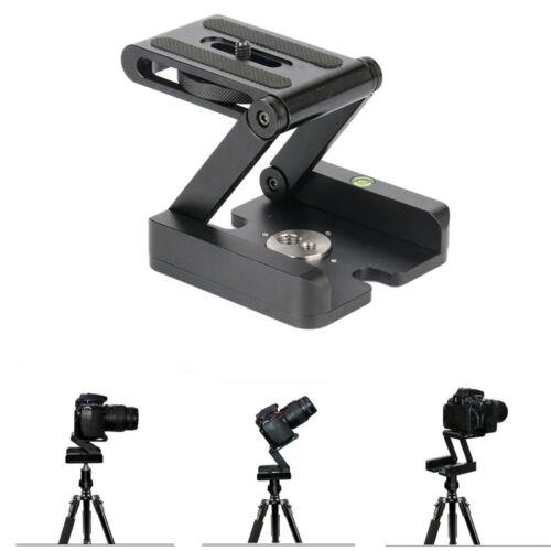 Z Type Tilt Tripod Head Flex Folding For Canon Nikon Sony DSLR Camera Aluminum