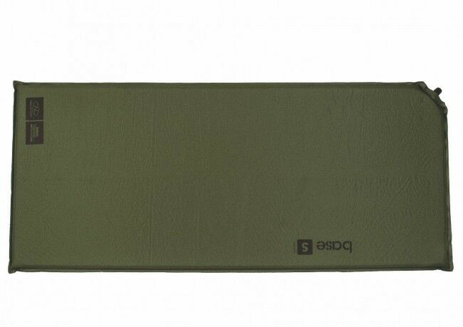 BASE S SELF INFLATE MAT an olive inflating lightweight thermalite air bed airbed