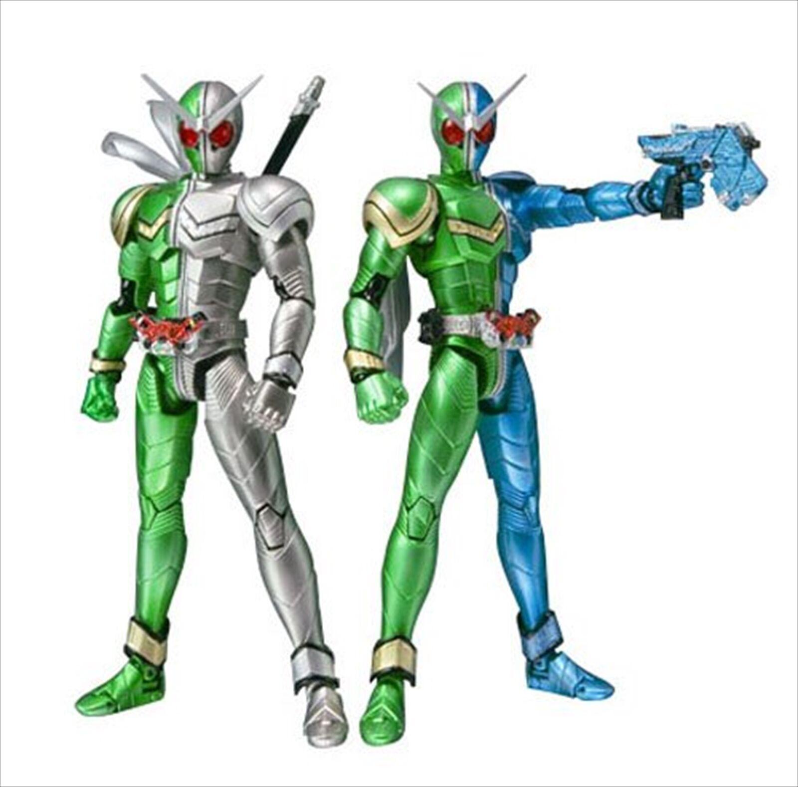 Bandai S.H. Figuarts Masked Kamen Rider W Cyclone Trigger & Cyclone Metal Figure
