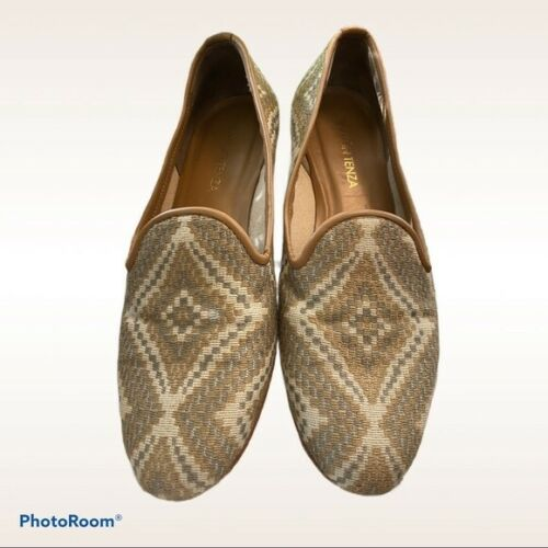 Ramon Tenza Stitched Aztec Loafers Made in Spain W