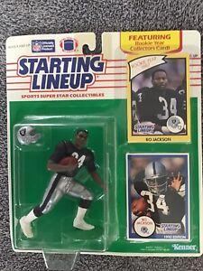Bo Jackson 1990 Raiders Starting Lineup