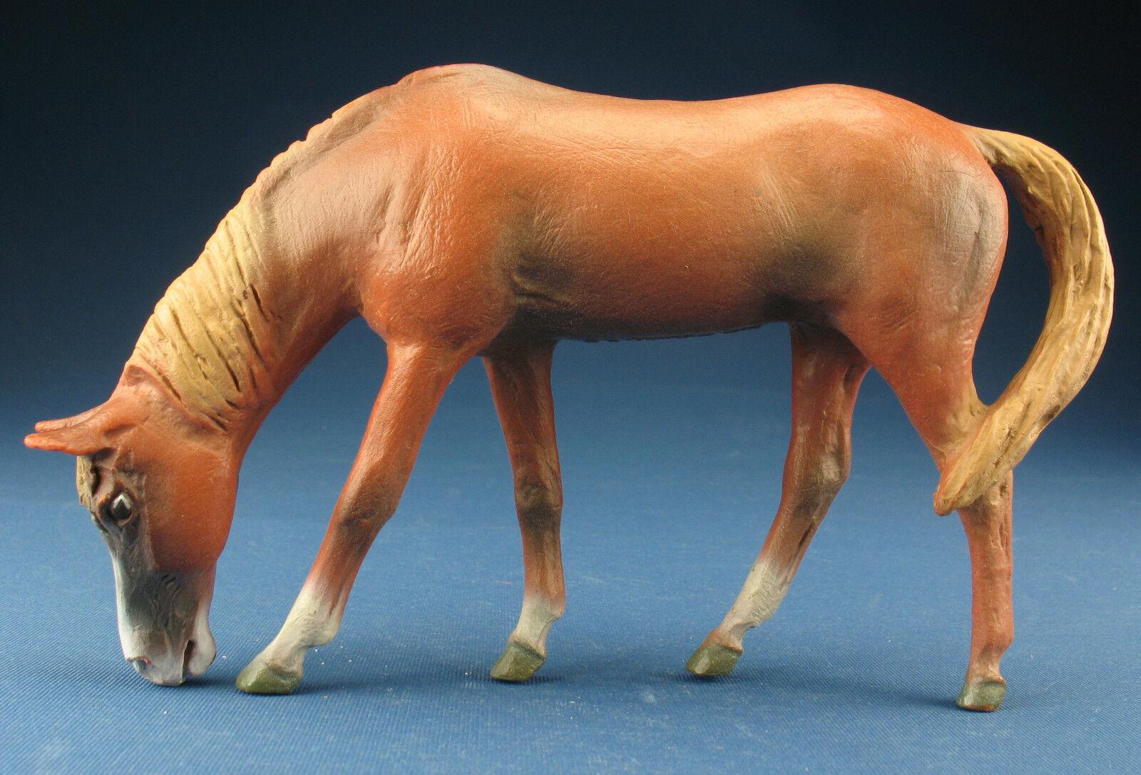 Schleich 16754 - stute grasend - k  nstlerpferd - 1,18 - ingo koblischek - pferd