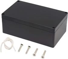 Waterproof Plastic Project Box Abs Ip65 Electrical Junction Box Enclosure Black