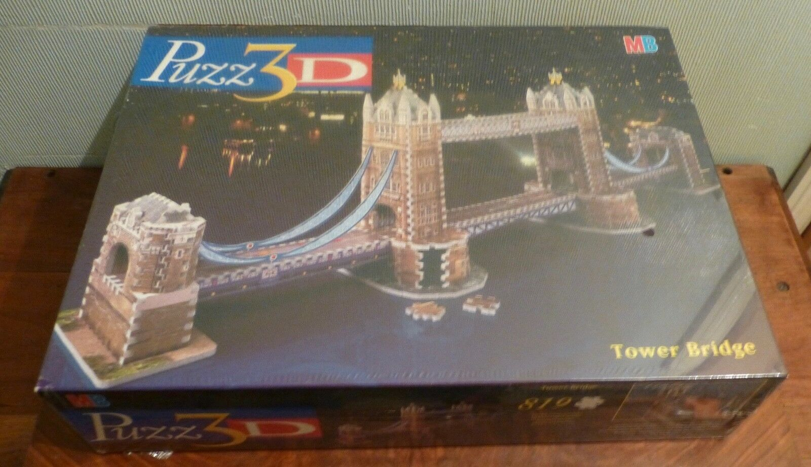 Puzz 3D 819 Tower bridge Factory Sealed. New. MB GAMES.