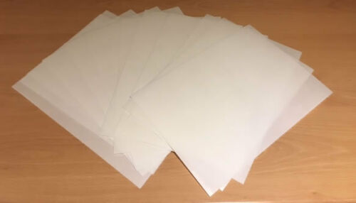 12 A4 sheets THICK white edible wafer//rice paper good for standup toppers