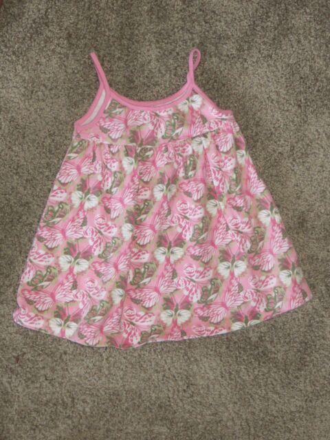 8486fd52b EUC Baby Gap Pink Butterfly Dress Size 6-12 6 12 Months