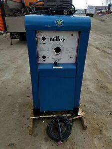 Miller Arc Welder >> Details About Miller Direct Current Arc Welder Sr 300 Wr 32