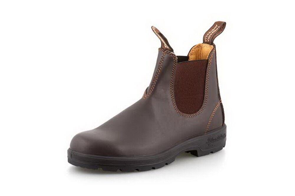 Blaundstone 550 Unisex Walnut braun Leather Dress Chelsea Ankle Stiefel