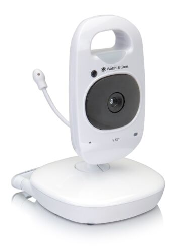 Audioline V1301or 2Camera Baby Monitor with Night Light and Two-Way Talk Back