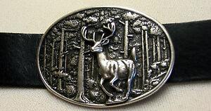 Sattlerqualitat-cinturon-de-cuero-nuevo-cinturon-de-cuero-n-medida-cazador-Hirsch-premium-trofeo