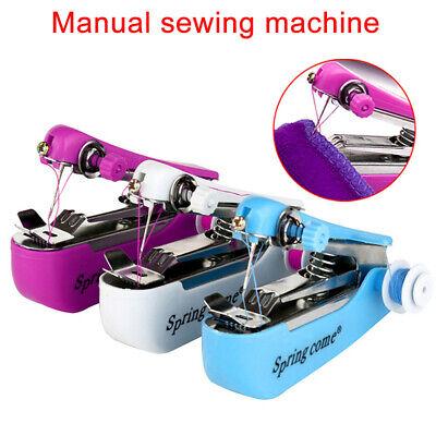 Mini Handnähmaschine Reisenähmaschine Reise Tragbare Nähen Nähmaschine Stitch