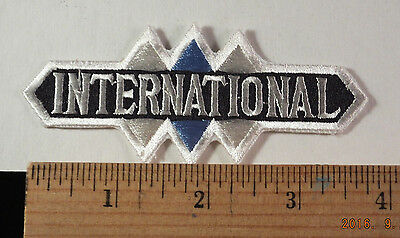 """Vintage International Trucks  Service Embroidered Patch 4 /"""" X 2/""""  Sew-on"""