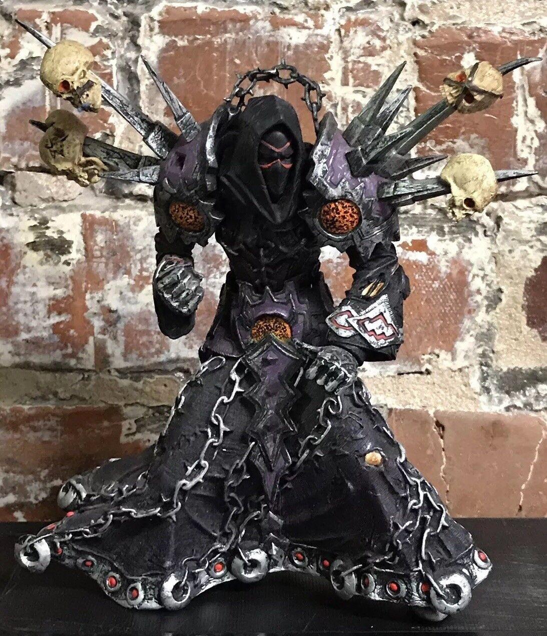 DC Unlimited World Of Warcraft Meryl Felstorm 6  Figure Blizzard Series 1 As-Is