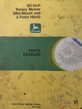 John Deere 318 420 430 332 314 317 Garden Tractor 50 Mid Amp 3pt Mower Part Manual