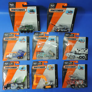 Mattel-Matchbox-Real-working-parts-seleccion-de-camion-Cars-Tank