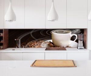 Aufkleber Küchenrückwand Kaffee Tasse Coffee Küche Folie ...