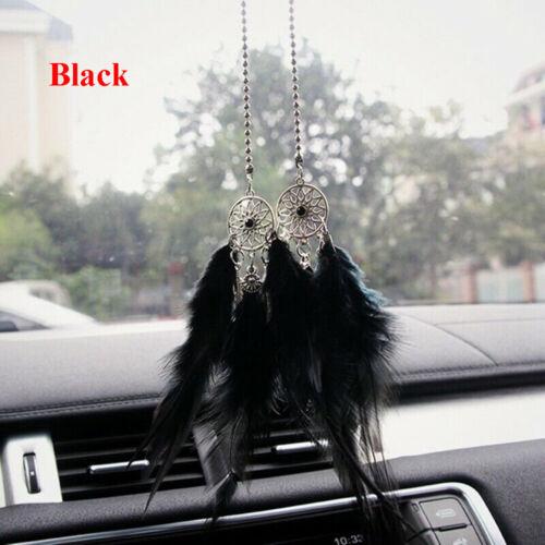 Pendants Dreamnet Feather  Car Interior Rearview Mirror Ornaments Dream Catcher