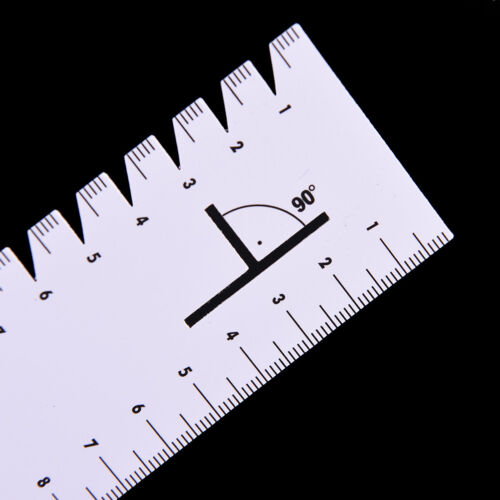 1pc 21cm Ultrathin sewing patchwork ruler quilting tool DIY sewing accessoryJB