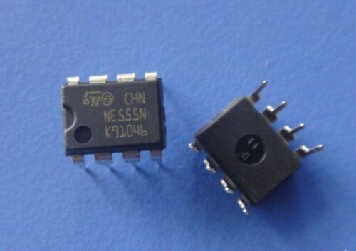 DORL/_A 20 pcs NE555 NE555N SGS-THOMSON DIP-8 Timer Kit HAM