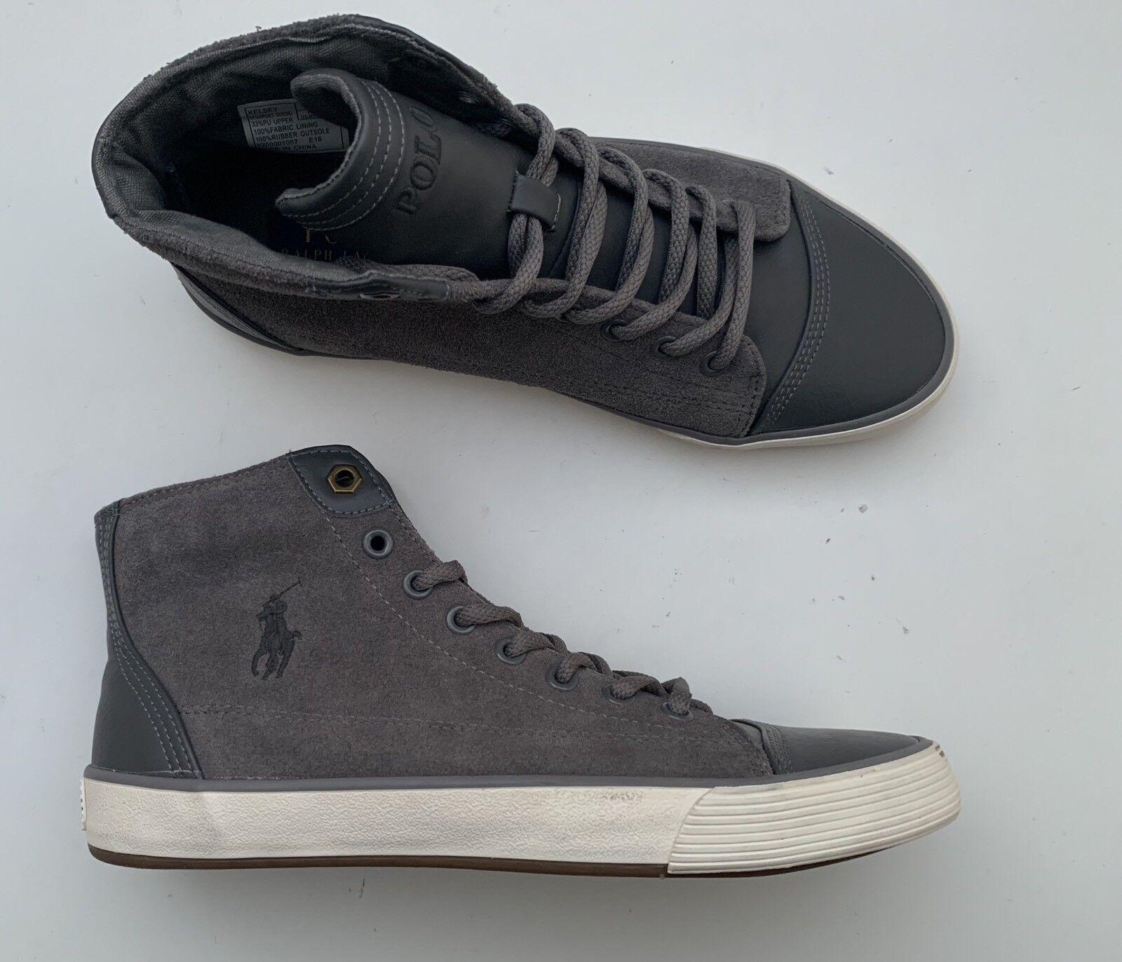 BN Authentic Kelsey hi-top trainer Boots Polo Ralph Lauren UK 6