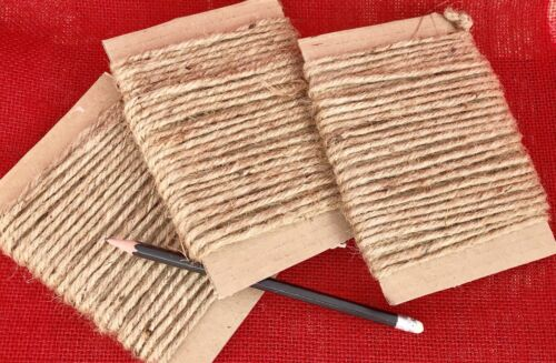 10M Natural Strong Jute String Shabby Chic Craft Cord Macrame Hanging Twine