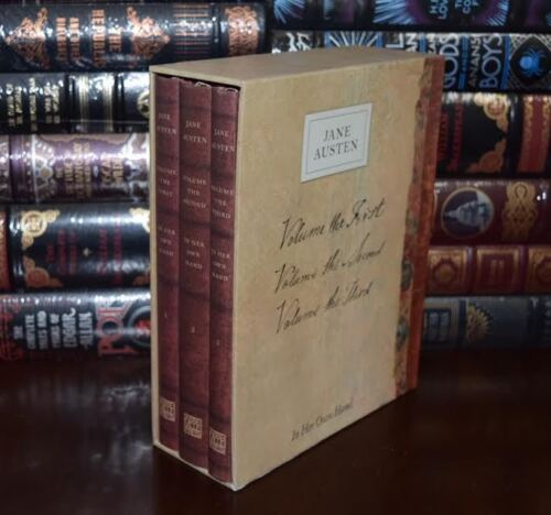Jane Austen In Her Own Hand Series Sealed Box Set Deluxe Hardcover