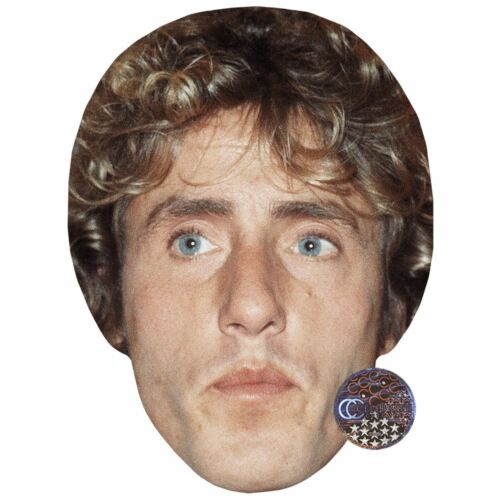 Young Celebrity Mask Card Face and Fancy Dress Mask Roger Daltrey