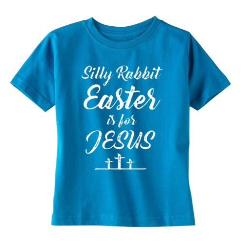 SILLY RABBIT EASTER IS FOR JESUS SPRING YOUTH T-SHIRT